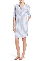 Women's Caslon Linen Shirtdress