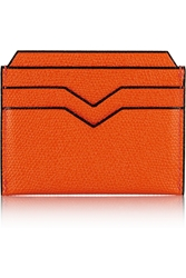 Valextra Textured Leather Cardholder
