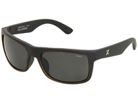 Zeal Optics Essential Polarized Matte Black W Dark Grey Polarized Lens Sport Sunglasses