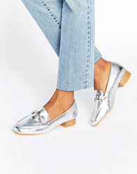 Truffle Collection Snaffle Loafer Silver