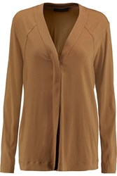 Donna Karan Chiffon Blouse Brown