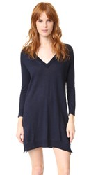 Zadig And Voltaire Riza V Neck Dress Ink