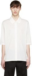 Paul Smith White Oversized Polo