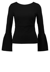 Pinko Long Sleeved Top Black