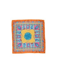 Dondup Square Scarves Turquoise