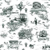 Flavor Paper Brooklyn Toile Wallpaper