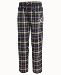 Concepts Sport Men's Los Angeles Rams Ultimate Flannel Sleep Pants Navy