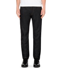 The Kooples Regular Fit Straight Jeans Blue Brut