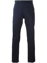 Christian Dior Homme Classic Chinos Blue