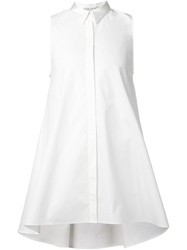 Alice Olivia Alice Olivia Long Sleeveless Shirt