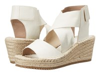 Eileen Fisher Willow Bone Tumbled Leather Women's Wedge Shoes