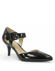 Ellen Tracy Bardot Patent Leather Pumps Black Patent