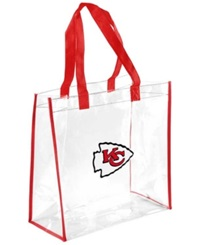 Forever Collectibles Kansas City Chiefs Clear Tote Bag