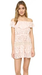 Somedays Lovin Verona Lace Maxi Dress Blush