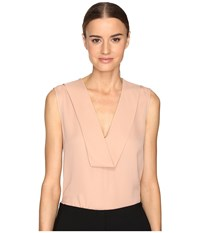 Theory Salvatill Classic Ggt Top Pale Rose Women's Clothing Pink