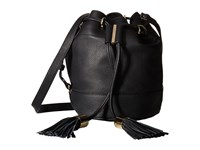 See By Chloe Vicky Small Bucket Bag W Crossbody Strap Black Cross Body Handbags