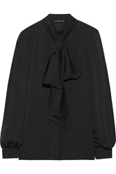 Gucci Pussy Bow Silk Georgette Blouse
