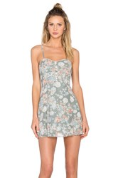 Bcbgeneration Floral Fit And Flare Dress Blue