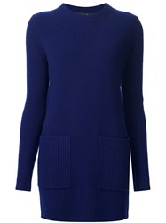 Proenza Schouler Knitted Tunic Blue