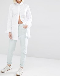 Waven Elsa Mom Jeans Pale Mint