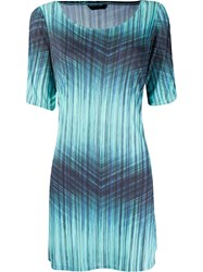 Lygia And Nanny Tie Dye T Shirt Dress Blue