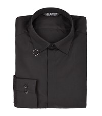Neil Barrett Ring Detail Shirt Male Black