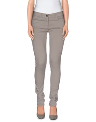 Alysi Trousers Casual Trousers Women Grey