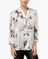 Guess Felicity Satin Printed Shirt Scuffy