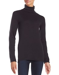 Splendid Knit Turtleneck Black