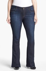 Wit And Wisdom Plus Size Women's 'Itty Bitty' Bootcut Jeans