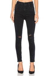 Agolde Roxanne Super High Rise Skinny Black