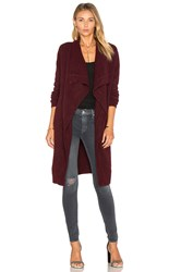 Bb Dakota Galileo Cardigan Burgundy