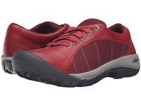 Keen Presidio Red Dahlia 1 Women's Lace Up Casual Shoes