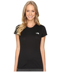 The North Face Short Sleeve Reaxion Amp Tee Tnf Black Tnf White Women's T Shirt