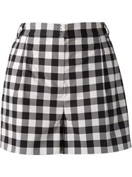Dolce And Gabbana Checked Shorts