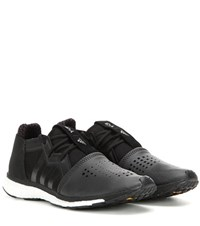 Y 3 Sport Racer Leather Sneakers Black