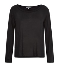 Helmut Lang Boat Neck T Shirt Female