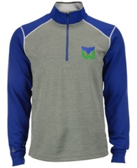 Antigua Men's Hartford Whalers Breakdown Quarter Zip Pullover