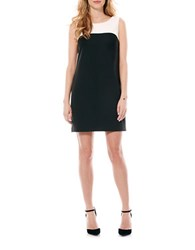 Laundry By Shelli Segal Colorblock Shift Dress Black