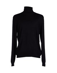 Altea Knitwear Turtlenecks Men Black