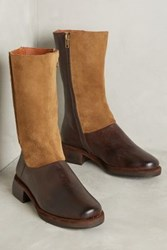 Anthropologie Kupuri Doris Boots Brown