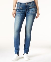 Rampage Juniors' Booty Booster High Rise Skinny Jeans Carman