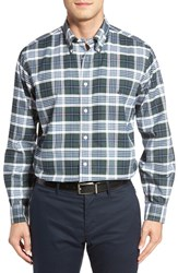 Brooks Brothers Men's No Iron Oxford Check Sport Shirt