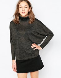 B.Young High Neck Swing Jumper Grey