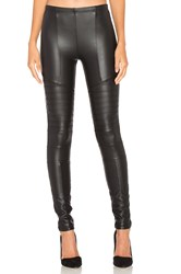Plush Full Liquid Moto Legging Black