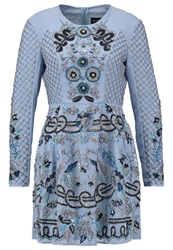 Needle And Thread Cocktail Dress Party Dress Powder Blue Light Blue