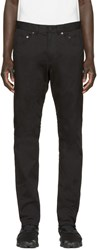 Alexander Wang Black Twill Tailored Trousers