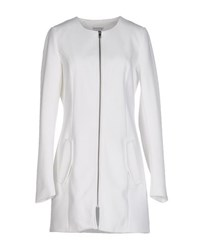 Jdy Jacqueline De Yong Coats And Jackets Full Length Jackets Women White