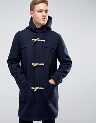 Jack And Jones Duffle Coat Navy Blazer