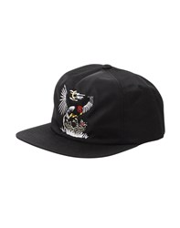 The Hundreds Lonney Snapback Black